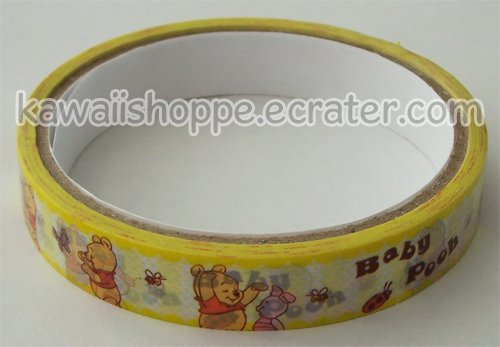 Disney Winnie the Pooh Baby Pooh Deco Tape Yellow