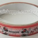 Disney White Minnie Mouse Deco Tape #6 Red Dots & Bows