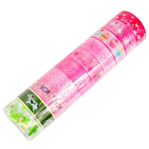 Wholesale Kawaii Deco Tapes 10 Rolls (Lot A)