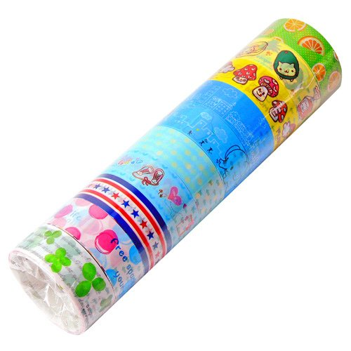 Wholesale Kawaii Deco Tapes 10 Rolls (Lot E)