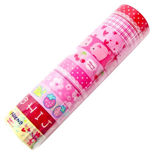 Wholesale Kawaii Deco Tapes 10 Rolls (Lot D)