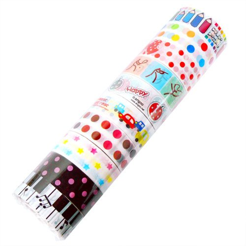 Wholesale Kawaii Deco Tapes 10 Rolls (Lot F)