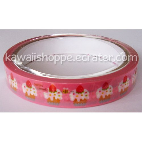 Mind Wave Sweets Honey Bee Deco Tape - Kawaii Strawberry Strawberries Cupcakes Desserts