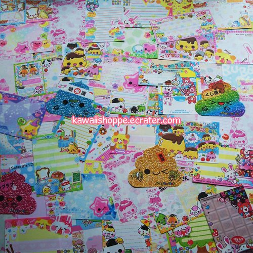 Kawaii 100+ Stationery Memo Grabbie Crux Kamio Q-lia (no repeats) No. 4
