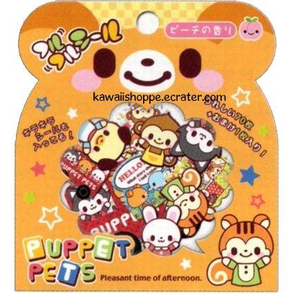 Q-lia Puppet Pets Sticker Sack Kawaii Stickers
