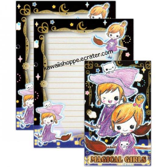 Wizard Co. Magical Girls Letter Set Kawaii