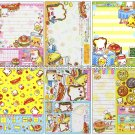 CRUX Sandwich Sandocchi Loose Memo Sheets #060 Kawaii