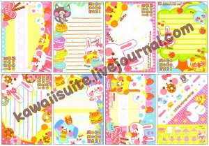 Kamio Japan Mogo Mogo Rabi Loose Memo Sheets #066 Kawaii