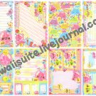 CRUX Pururin Jelly Loose Memo Sheets #067 Kawaii
