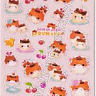 Q-lia Prun Chan Pudding Sticker Sheet #SE009 - Kawaii Stickers