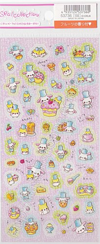 CRUX Bakery Sticker Sheet Kawaii Bunnies Stickers Cakes Doughnuts Donuts
