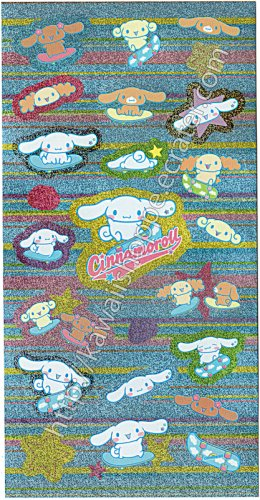 Cinnamoroll Skateboarding Stickers Sanrio Kawaii