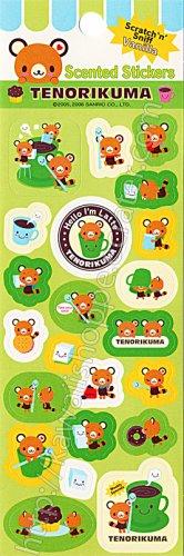 Tenorikuma Vanilla Scented Stickers Sanrio Kawaii