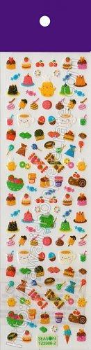 Sweets Sticker Sheet - Kawaii Stickers