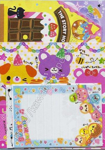 NEW Kawaii Grab Bag 100+ Stationery Memo Grabbie Crux Kamio Q-lia San-X No. 6
