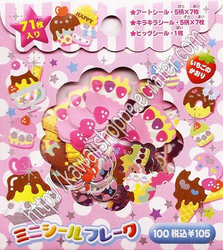CRUX Desserts Sticker Sack Kawaii Sweets Cakes