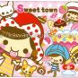 CRUX Sweet Town Girls Mini Memo Pad Kawaii Desserts Cakes Ice Cream