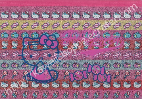 Sanrio Hello Kitty Candies Memo Pad Candy Sweets Stickers Red