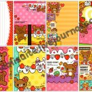 Mind Wave Berry Bear Loose Memo Sheets #065 Kawaii