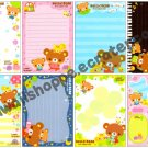Q-Lia Hello! Bear Loose Memo Sheets Kawaii