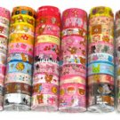 Wholesale Deco Tape 60 Rolls Rilakkuma Bear Dessert Strawberries Cherries Kawaii