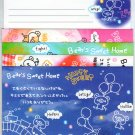 CRUX &quot;Bear&#39;s Sweet Home&quot; Letter Set Kawaii cute blue pink dessert bear