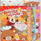 Q-lia Bear&#39;s Cafe Mode Letter Set Kawaii dessert