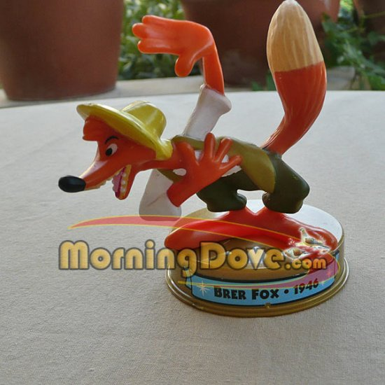 Brer Fox from Song of the South - Disney 100 Years of Magic - McDonalds Toy Promo