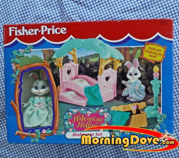 Fisher Price Hideaway Hollow Bedroom Set #74725
