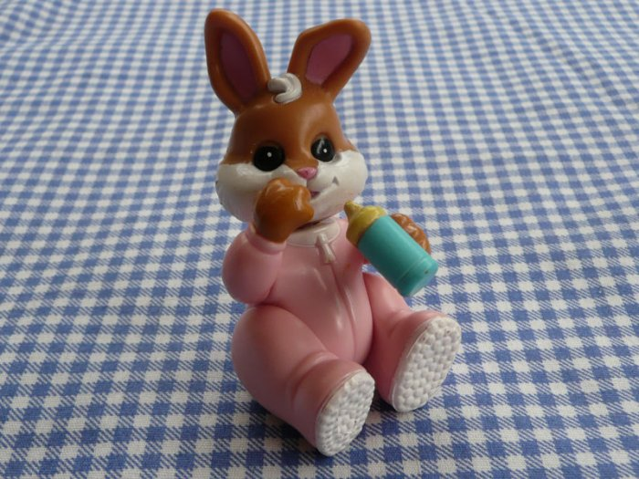 Fisher Price Hideaway Hollow Baby Bunny - Brown