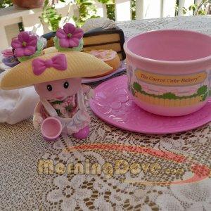 Tea Bunnies and Me Sweet Azalea and the Carrot Cake Bakery Deluxe Tea Set