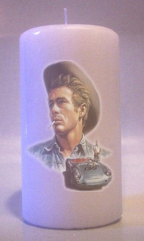 JAMES DEAN 6 inch Pillar Candles Collectable Home Decor