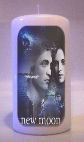 TWILIGHT NEW MOON Collectable 6 inch Pillar Candles Home Decor