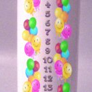 Birthday COUNTDOWN  8 inch Pillar Candle