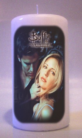 BUFFY THE VAMPIRE SLAYER Collectable 6 inch Pillar Candles Home Decor