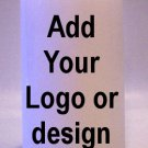 YOUR LOGO or any artwork 6 inch Pillar Candle