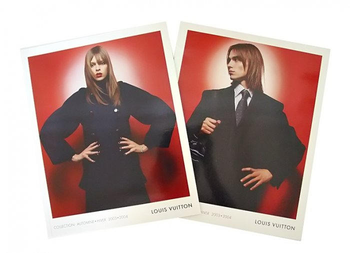 LOUIS VUITTON 2003-2004 WOMEN & MEN FALL & WINTER 2 CATALOGS