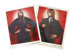 LOUIS VUITTON 2003-2004 WOMEN & MEN FALL & WINTER 2 CATALOGS