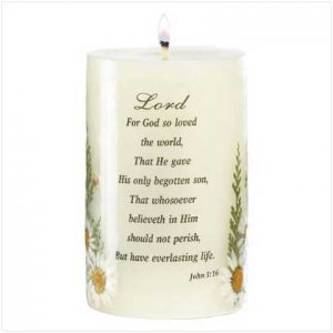 """""""Love of The Lord"""" Candle"""