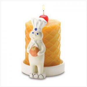 Pillsbury Doughboy Waffle Candle