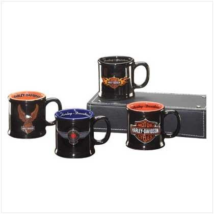 Harley Davidson Sculpted Mug Shots