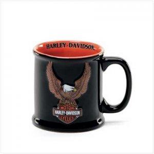 Harley Davidson The Eagle Soars Sculpted Mug