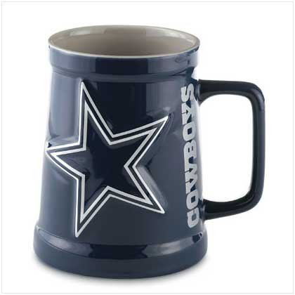 Dallas Cowboys Sculpted Tankard