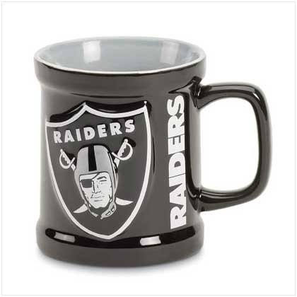 Oakland Raiders Sculpted Mug