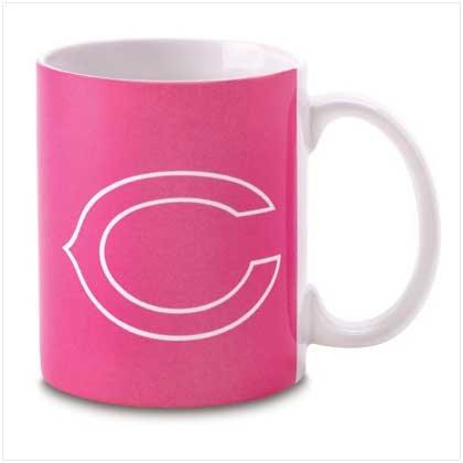 Chicago Bears Pink Mug