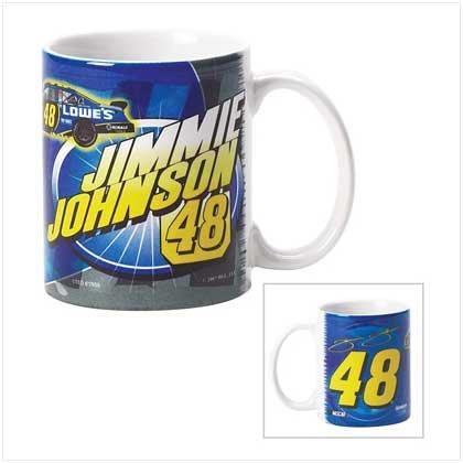 Jimmie Johnson Sublimated Mug