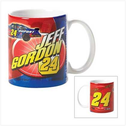 Jeff Gordon Sublimated Mug