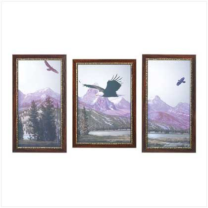 39275 Mountain Eagles Mirror Set