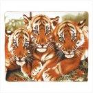 39344 Wildlife Tigers Fleece Blanket