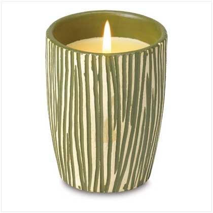 38563 Jungle Stripe Scented Candle